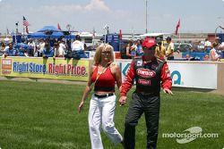 Al Unser Jr. et sa petite amie Gina