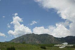 The beautiful view of Colorado Springs, Colorado.