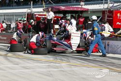 Pitstop for Buddy Rice