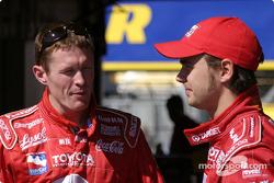 Scott Dixon et Darren Manning