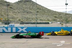 Adrián Fernández y Tomas Scheckter
