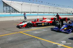 Indy Racing Experience biplace : Dan Wheldon et Arie Luyendyk