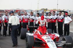 Dan Wheldon avec l'équipe Andretti Green