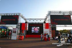 Le stand Honda Racing