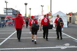 Chip Ganassi Racing Team crew members