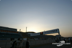 Sunset on Twin Ring Motegi