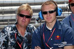 Davey Hamilton and Ed Carpenter