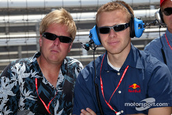 Davey Hamilton and Ed Carpenter