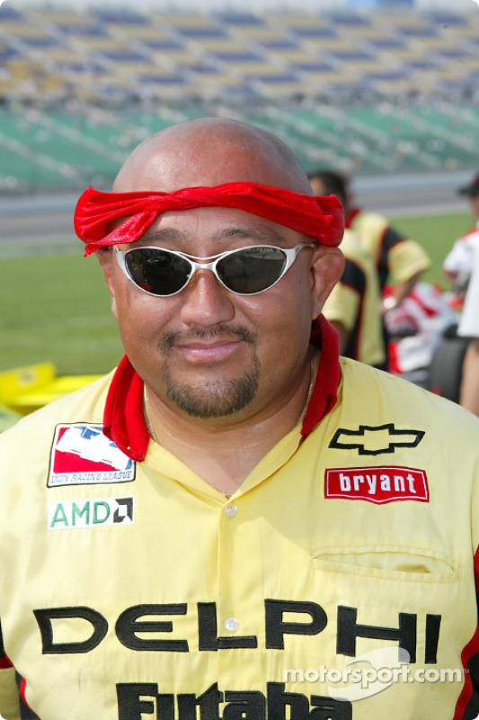 Panoz Motorsports crew members