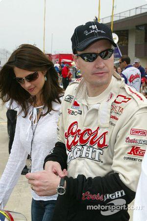 Buddy Lazier et sa femme Kara