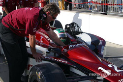 Tora Takagi readies for his 3rd attempt on the #12 car