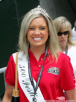 Creighton Goebel, la princesse du festival de l'Indianapolis 500 2004