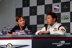 Conferencia de prensa: Adrián Fernández y Kosuke Matsuura