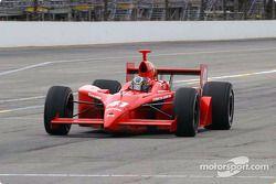 Larry Foyt on pit lane