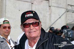 Grand Prix star and former pace car driver James Garner