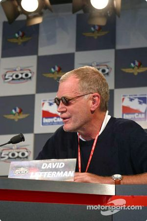 Conférence de presse : David Letterman