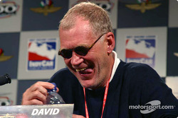 Press conference: David Letterman