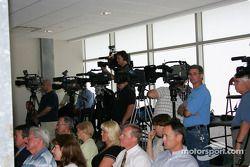 Des journalistes