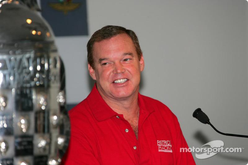 Al Unser Jr. retirement press conference