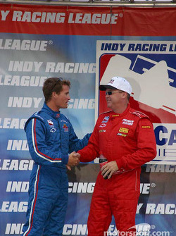 Al Unser Jr. and Alex Barron