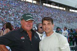 Texans A.J. Foyt Jr. and Craftsman Truck Series Driver David Starr