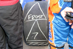 Right rear tire of Felipe Giaffone before the race