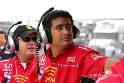 Andretti Green Racing crew members