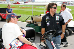 Buddy Rice et Michael Andretti