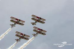 Show aérien du Baron Rouge