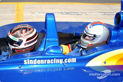Indy Experience two-seater IndyCar: Sarah Fisher and a guest