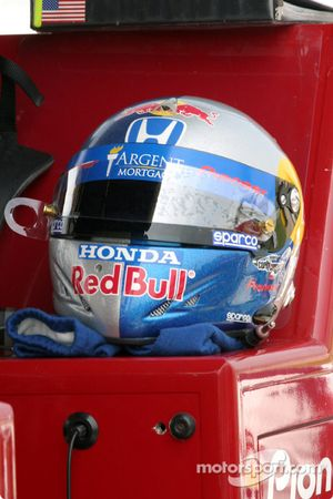 Le casque de Buddy Rice