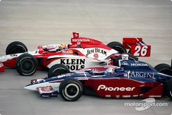 Dan Wheldon et Buddy Rice