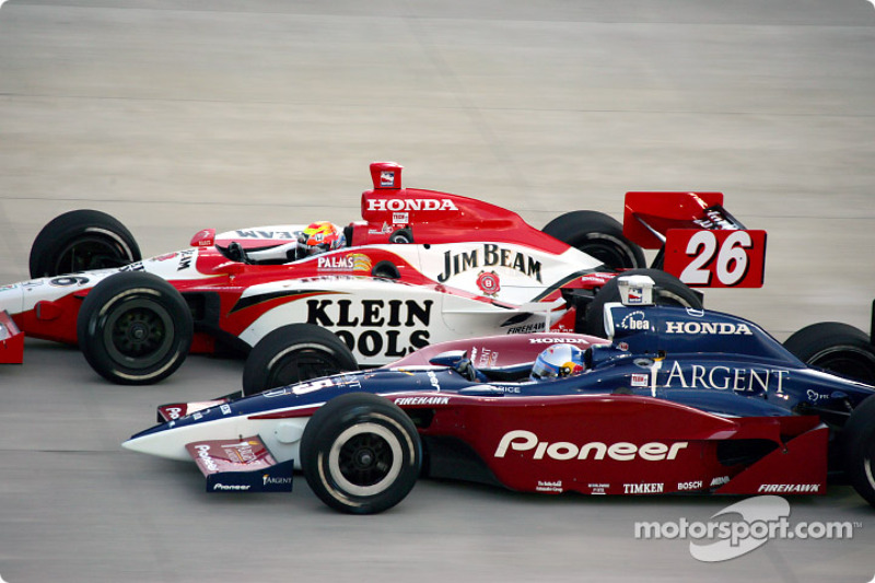 Dan Wheldon and Buddy Rice