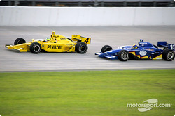 Tomas Scheckter and Mark Taylor
