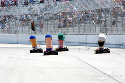 Pre-race ceremony: racing wieners