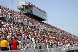 Fans au Milwaukee Mile