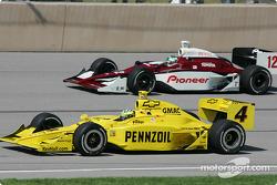 Tomas Scheckter et Tora Takagi