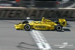 Tomas Scheckter sur la ligne