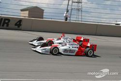 Team Penske, Helio Castroneves et Sam Hornish Jr.