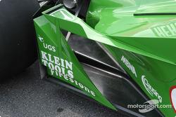 Dallara right rear aero