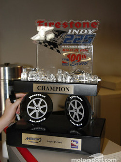 The Firestones Indy 225 trophy