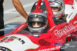 Indy Experience two-seater IndyCar: Michael Andretti and a guest