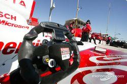 Scott Dixon's steering wheel