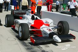 Helio Castroneves' car