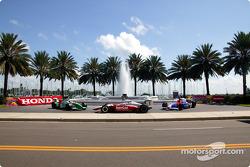 Les voitures d'IRL exposées à St. Petersburg