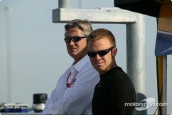 Eddie Cheever and Ed Carpenter