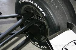 Road coarse brake duct