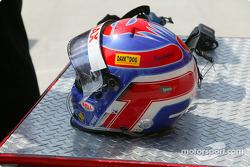 Le casque de Tomas Enge
