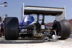 La voiture de Dario Franchitti