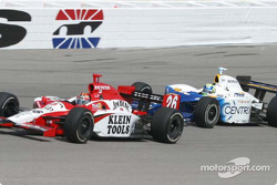 Dan Wheldon and Vitor Meira
